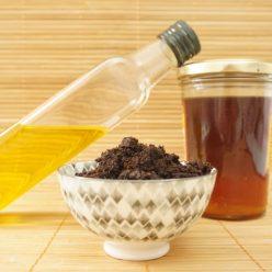 Je réalise mon exfoliant anti-cellulite au marc de café