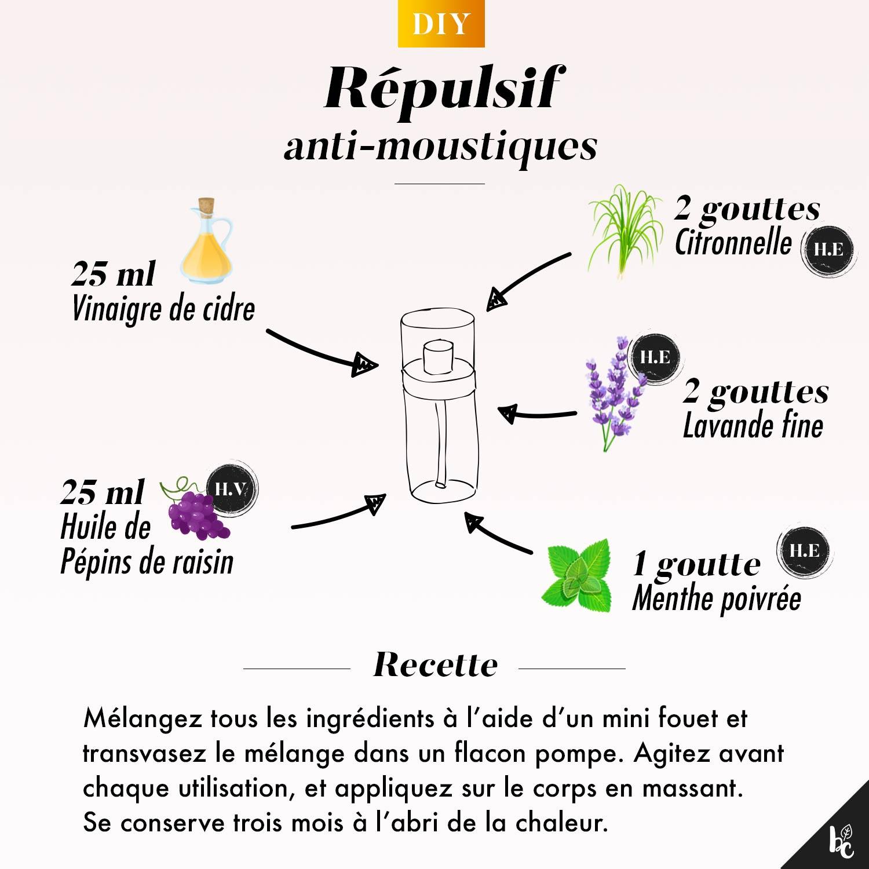 Comment fabriquer un répulsif anti-moustiques maison ? - DIY