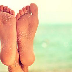 Soin des talons et des pieds pour l'été