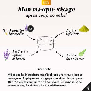 DIY : Comment réaliser un masque visage spécial coup de soleil ?