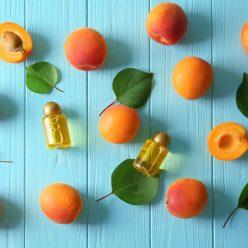 huile végétale de noyau d'abricot
