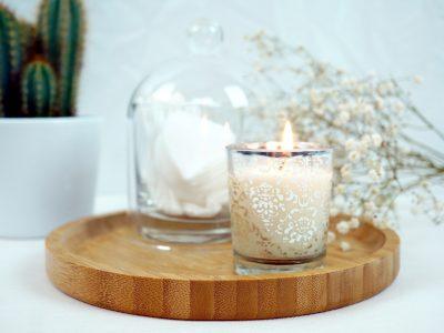 bougie naturelle maison et parfumée