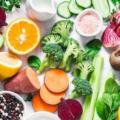 antioxydants alimentation