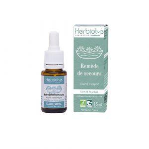 Remède de secours - Clarté d'esprit, sang froid, apaisement Herbiolys