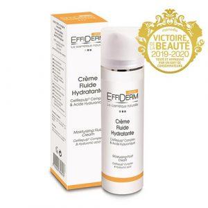 Crème fluide hydratante effiderm