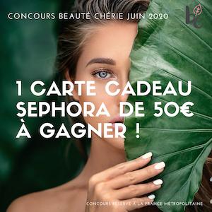 Concours Beauté Chérie juin 2020