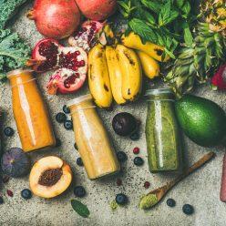 Jus de fruits et légumes frais