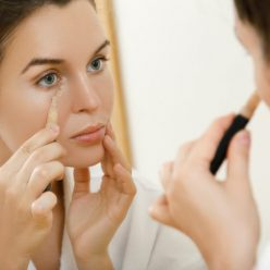 Maquillage fatigue